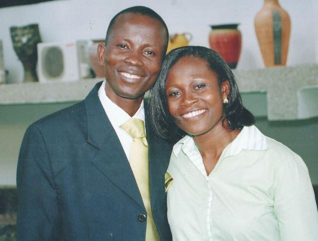 Rev. James William Ampofo & Wife PIC