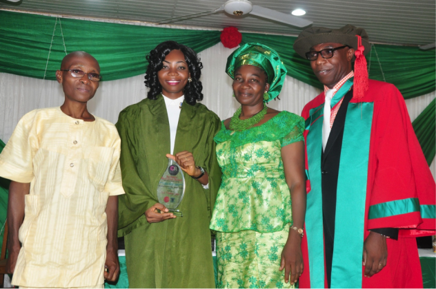 ER AWARD OF ACADEMIC EXCELLENCE – UNN 2017-5