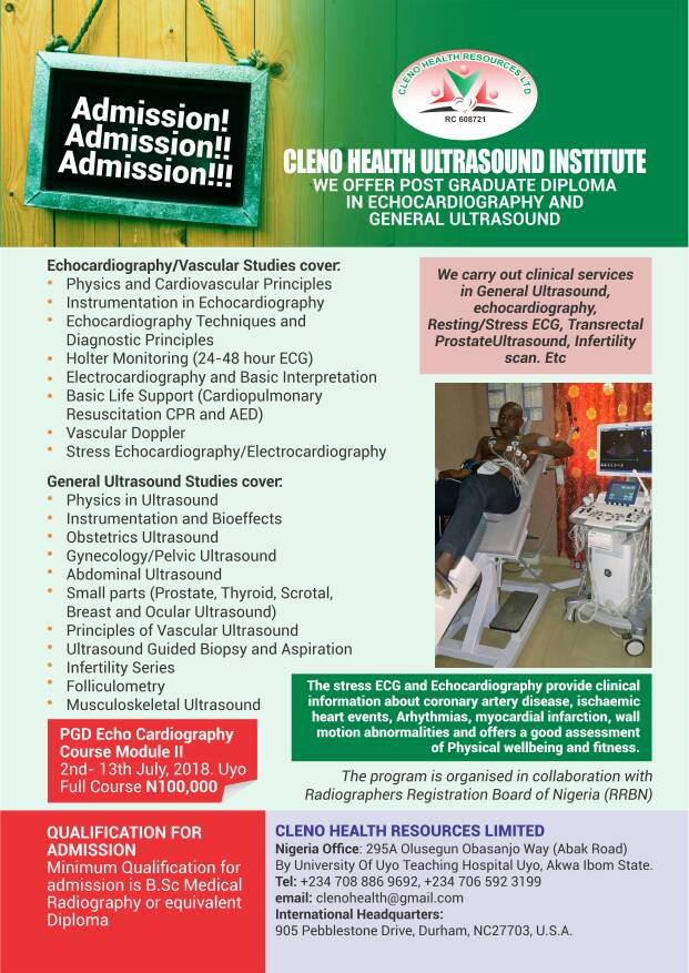 Cleno Health Ultrasound Institute