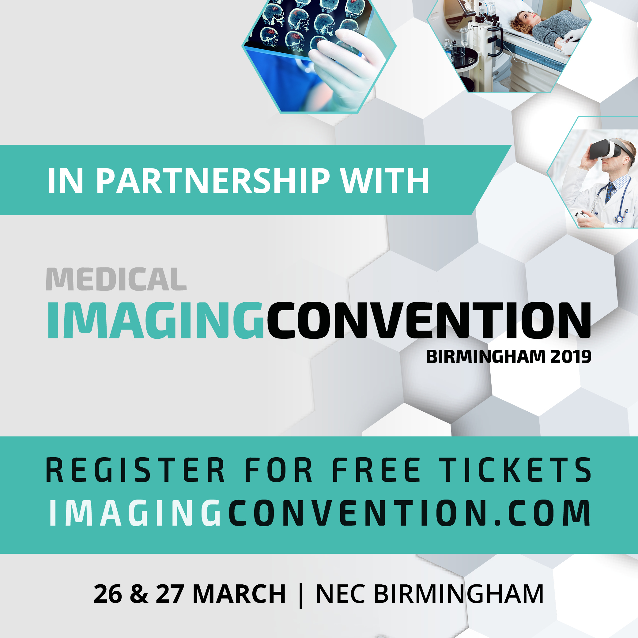 Medical Imaging Convention partnership