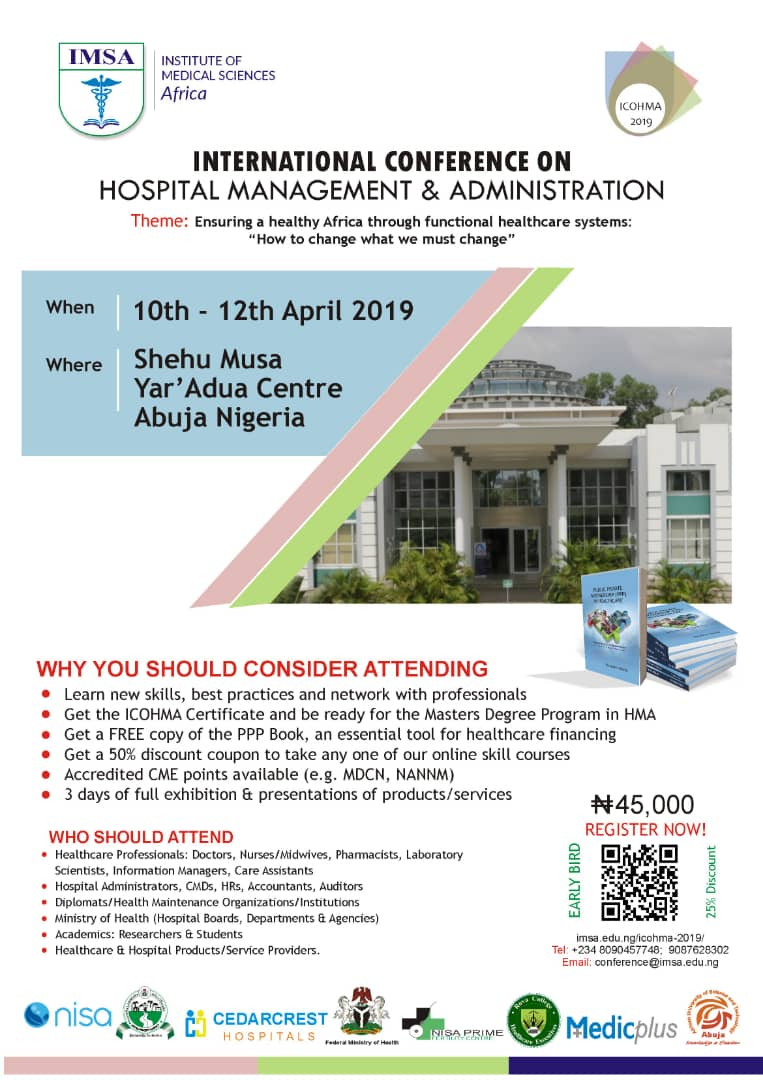 International Conference on Hospital Management and Administration