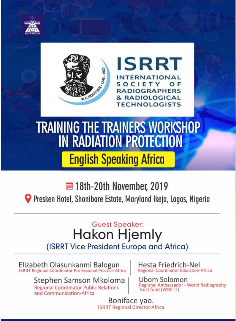 Train the trainers workshop in radiation protection